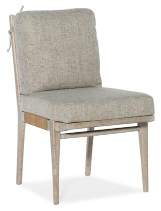 American Life-Amani Collection 1672-75312-80 Upholstered Side