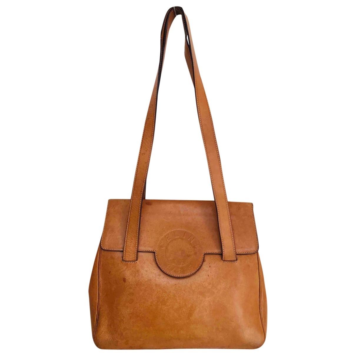 Celine \N Handtasche in  Kamel Leder