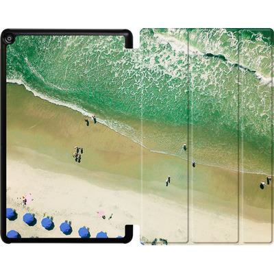 Amazon Fire HD 10 (2017) Tablet Smart Case - Beach Umbrellas von Joy StClaire