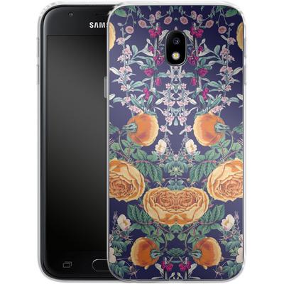Samsung Galaxy J3 (2017) Silikon Handyhuelle - Midnight Spring von Zala Farah