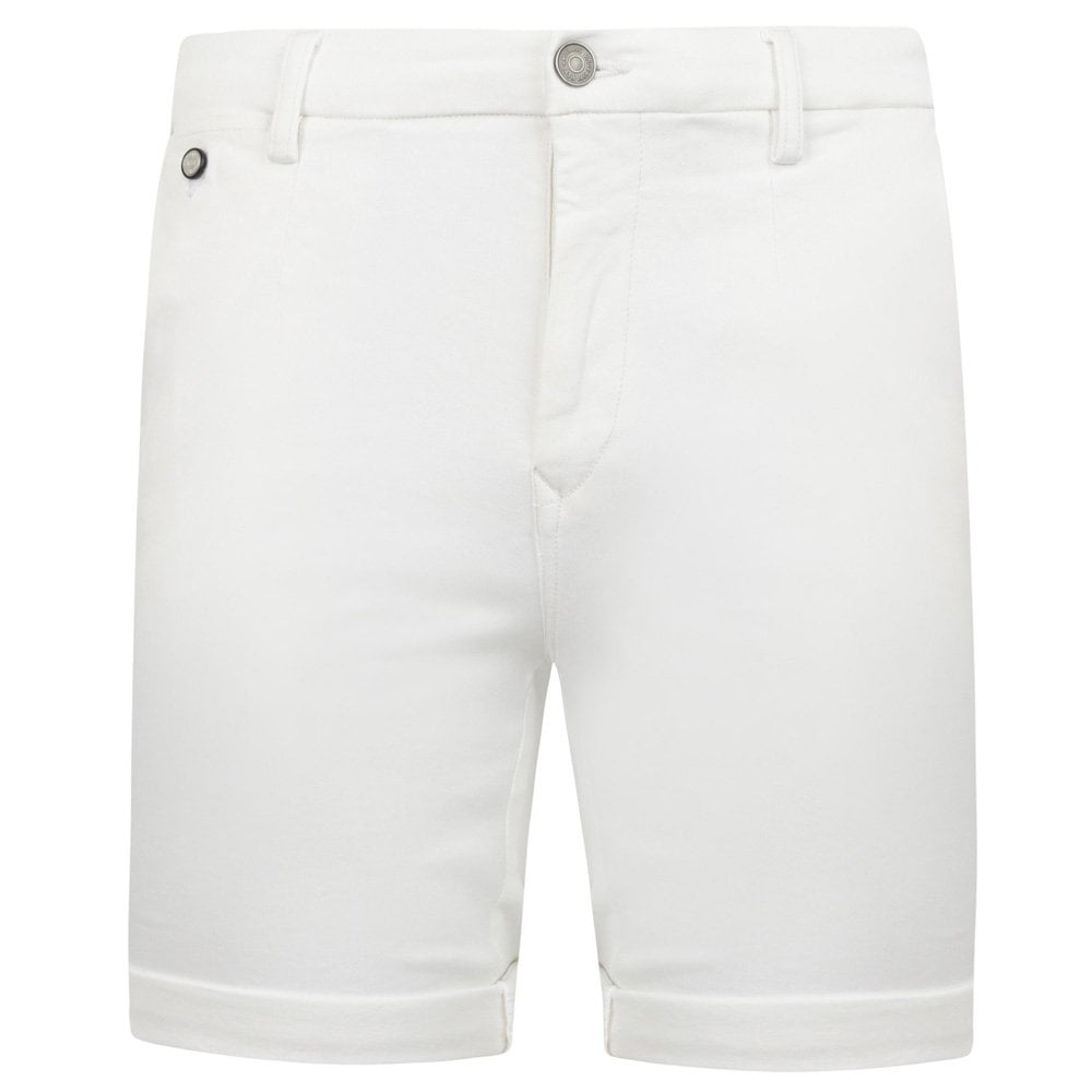 Replay Chino Hyperflex Shorts Colour: WHITE, Size: 30