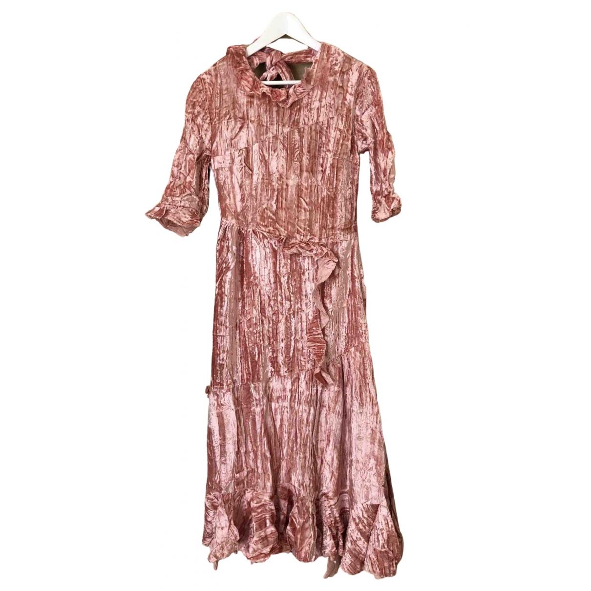 Maxi vestido de Terciopelo Rejina Pyo