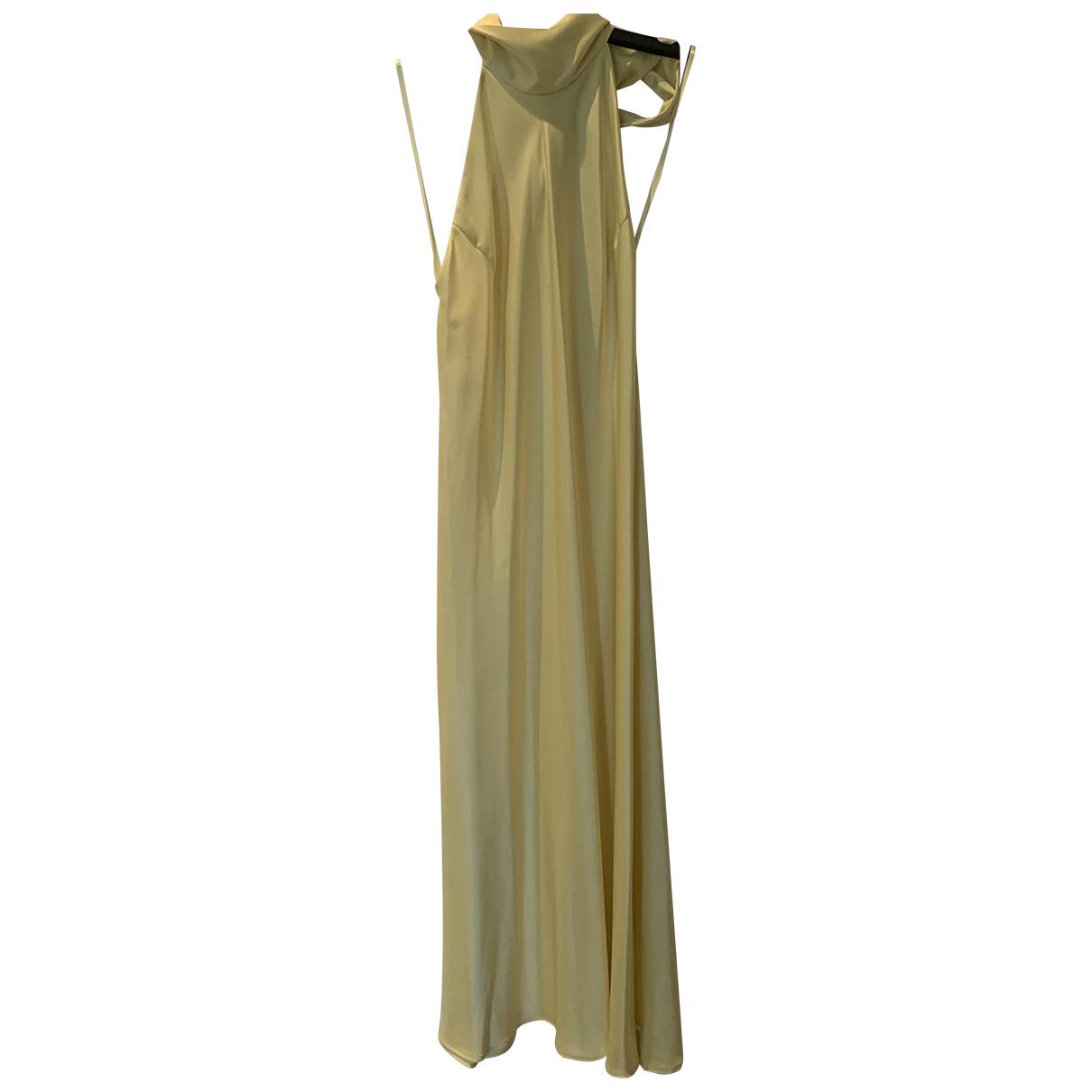 Galvan London - Robe   pour femme - jaune