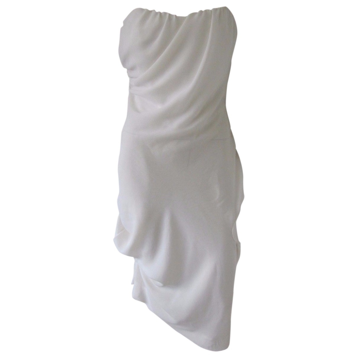 Vestido midi de Seda Vivienne Westwood