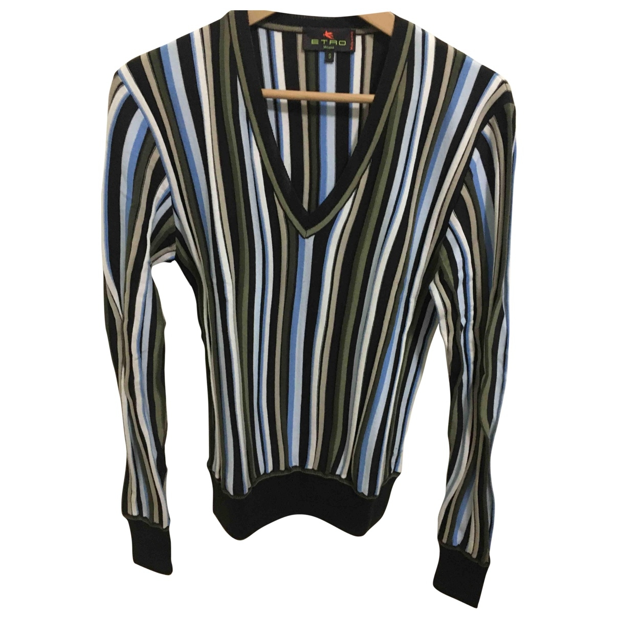 Etro \N Multicolour Cotton Knitwear & Sweatshirts for Men S International