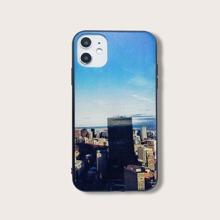 iPhone Schutzhuelle mit Stadt Muster