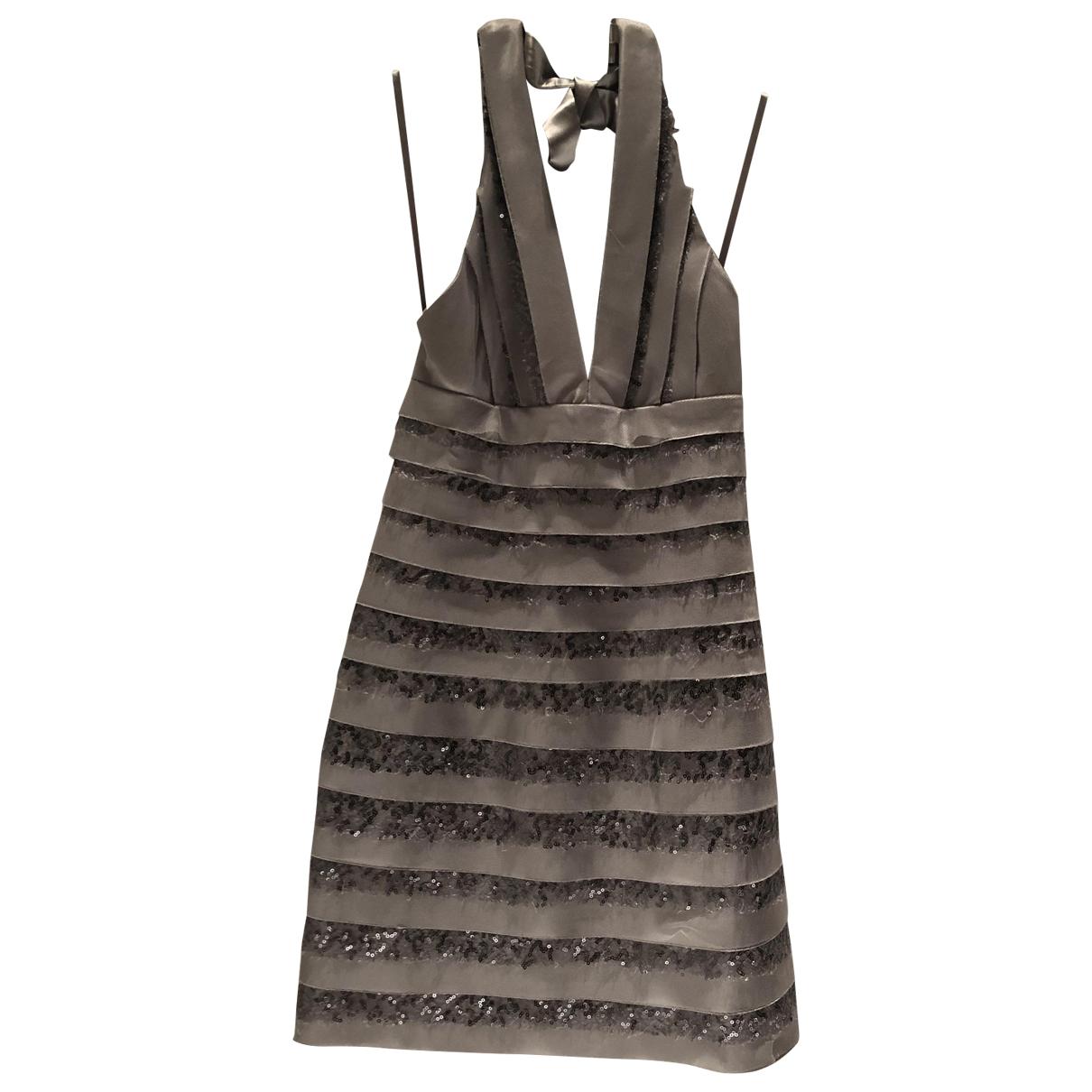 Bcbg Max Azria \N Silver dress for Women XS International