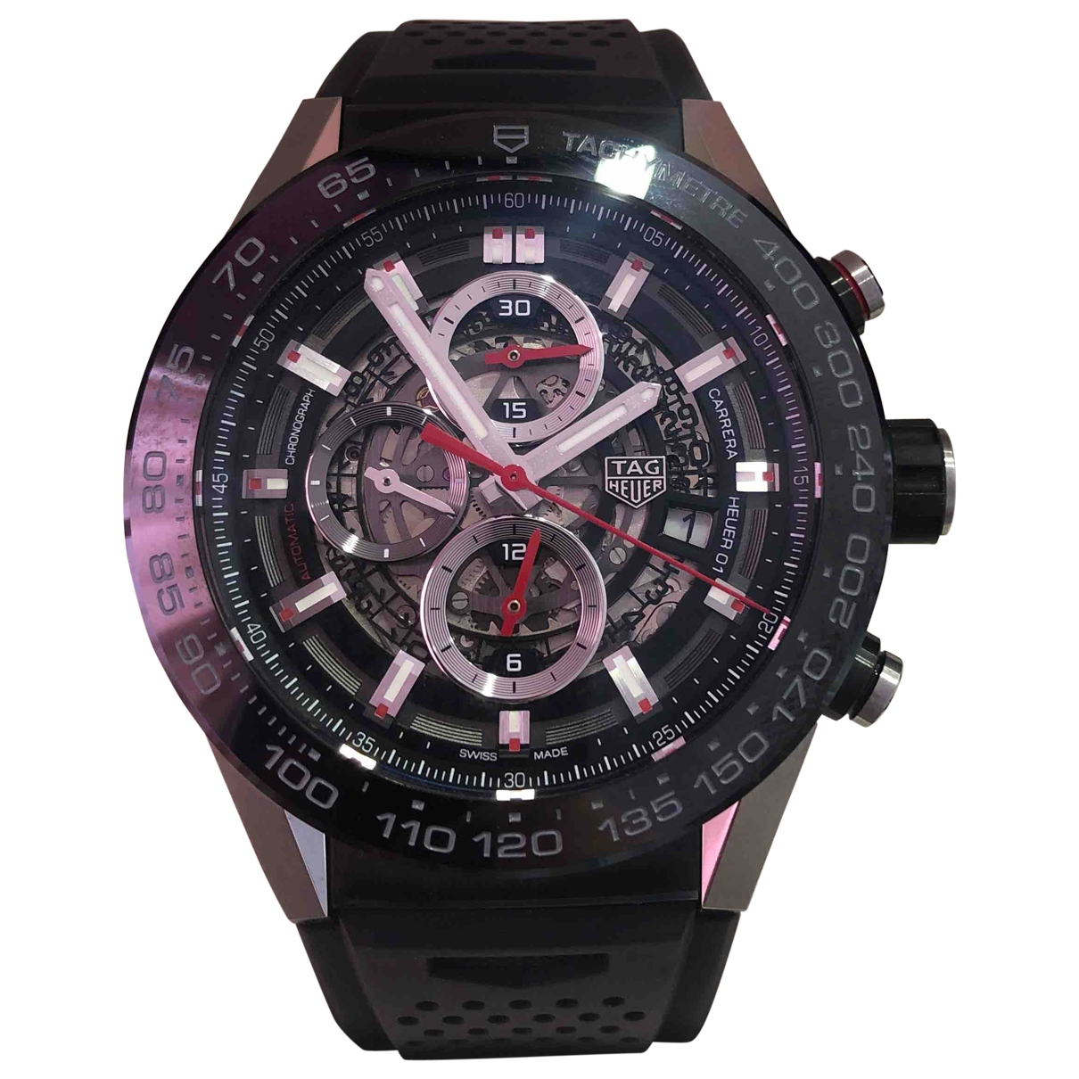 Tag Heuer Carrera Black Steel watch for Men \N