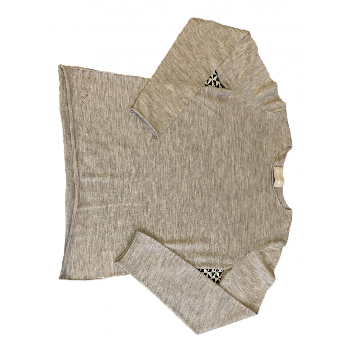 Zadig & Voltaire - Pull   pour femme en laine - beige