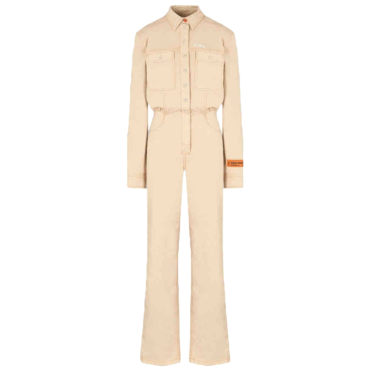 Heron Preston \N Beige Cotton jumpsuit for Women M International