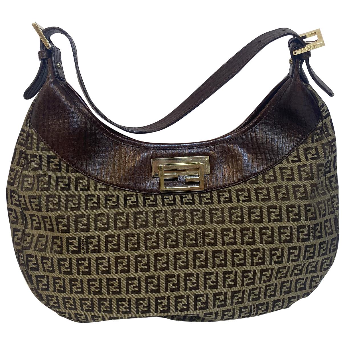 Fendi \N Brown Cotton handbag for Women \N