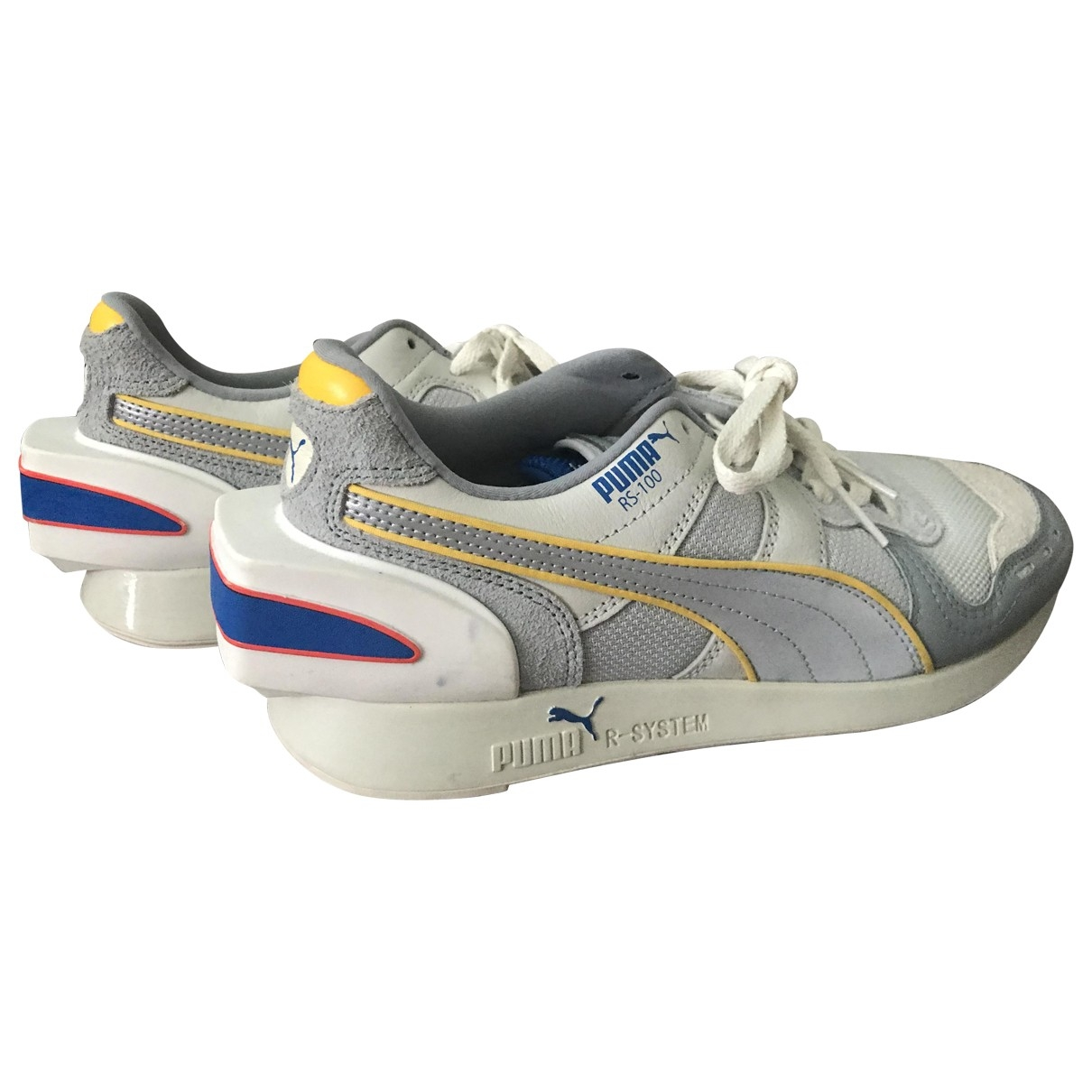 Puma \N Grey Fur Trainers for Women 37.5 EU