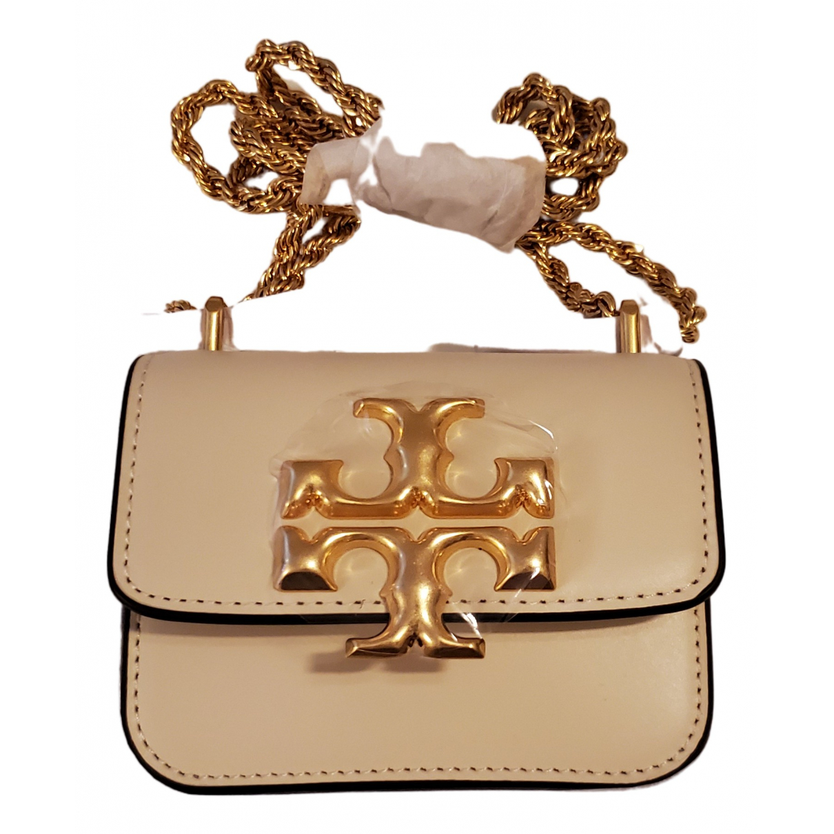 Tory Burch \N White Leather handbag for Women \N