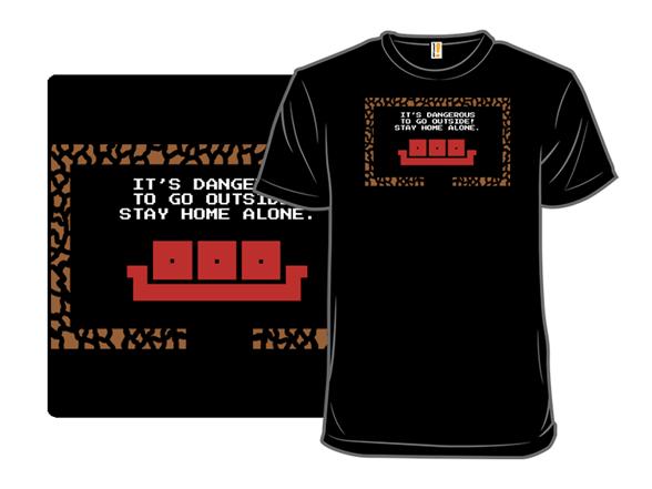 8 Bit Solitude T Shirt