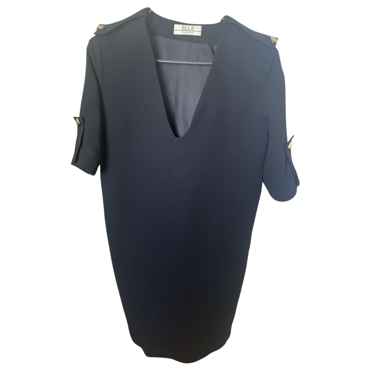 Ella Luna \N Kleid in  Schwarz Polyester