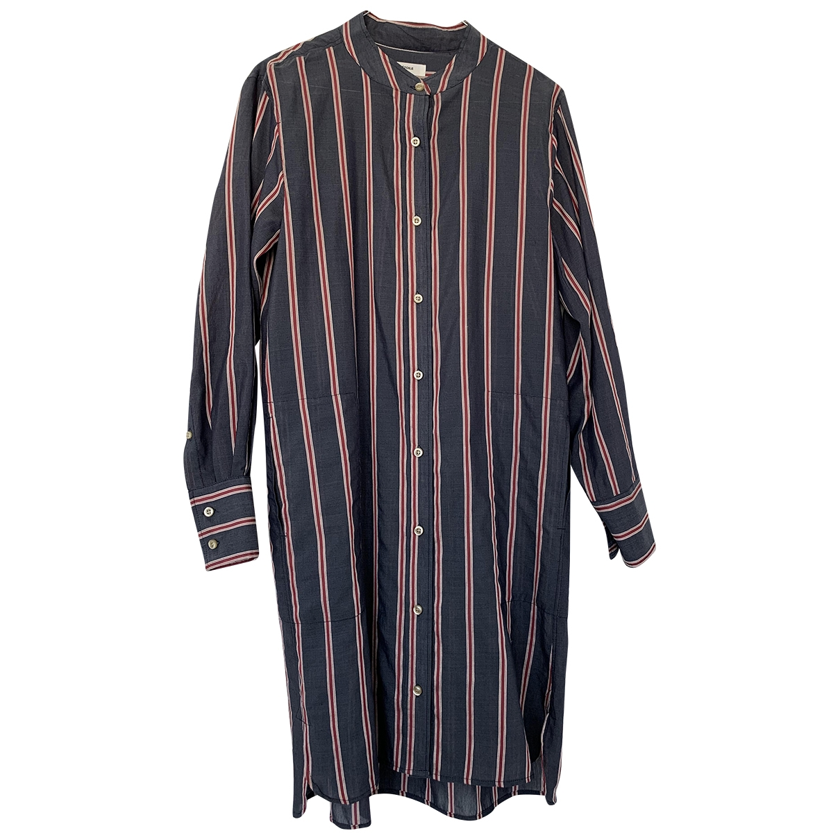 Isabel Marant Etoile \N Grey Cotton dress for Women 36 FR