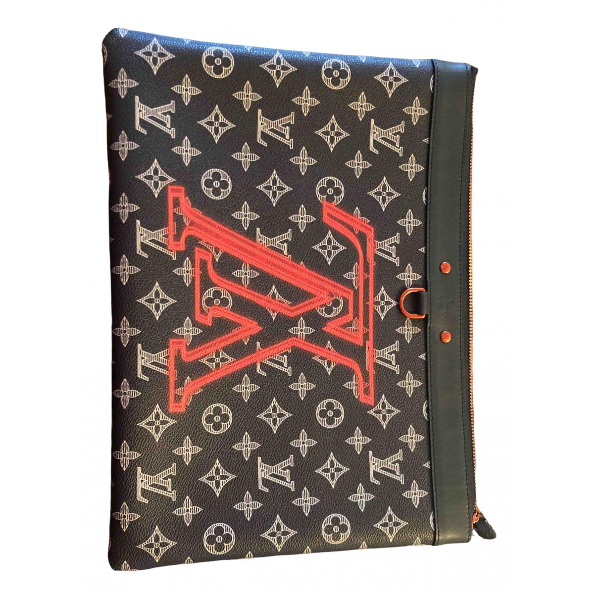 Louis Vuitton Apollo Pochette  Blue Cloth bag for Men \N