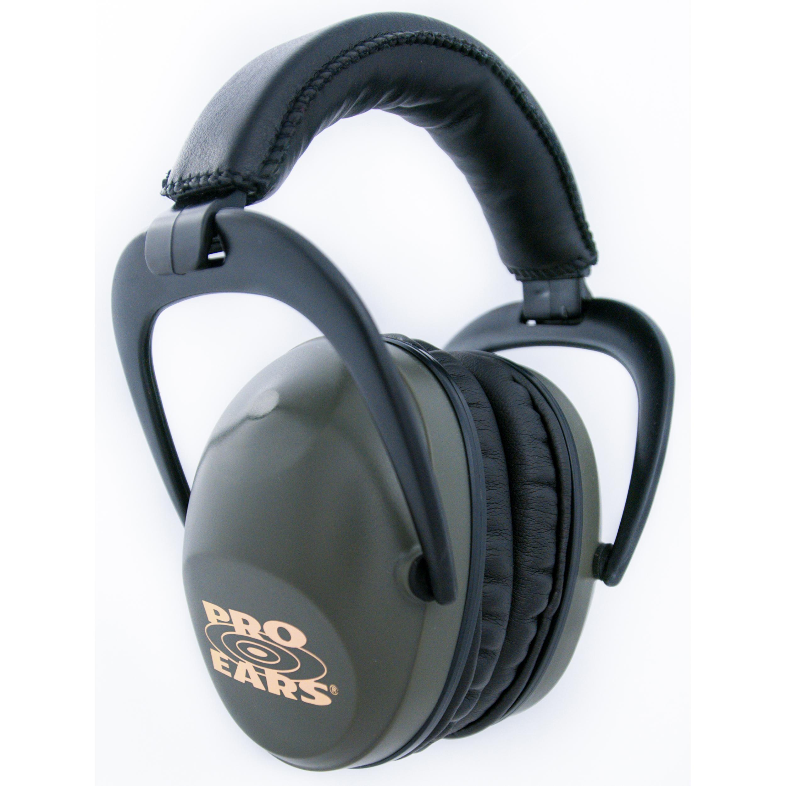 Ultra Sleek Green - Passive Hearing Protection