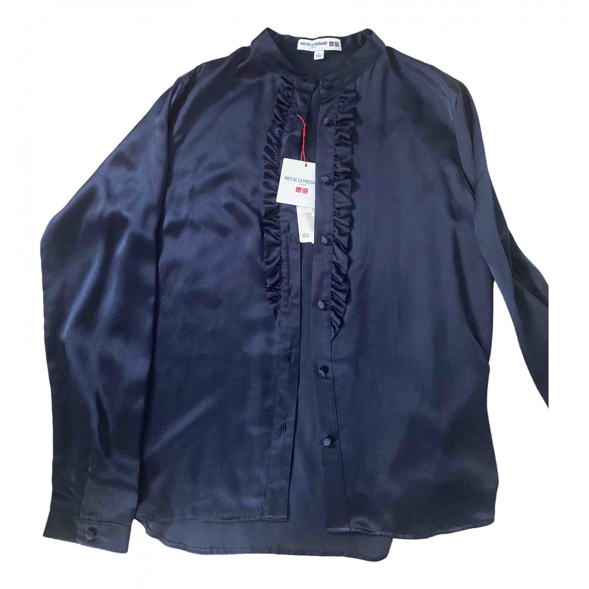 Uniqlo \N Blue Silk  top for Women S International