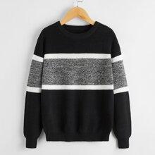 Boys Color Block Sweater