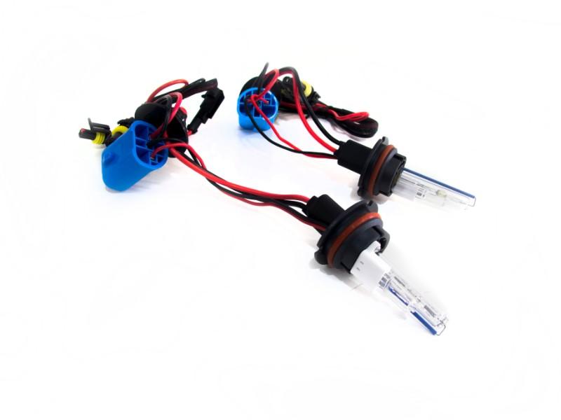 Race Sport Lighting 9007-8K-SB-RB-55W 9007-1 8K 55W Single Beam HID Replacement Bulbs