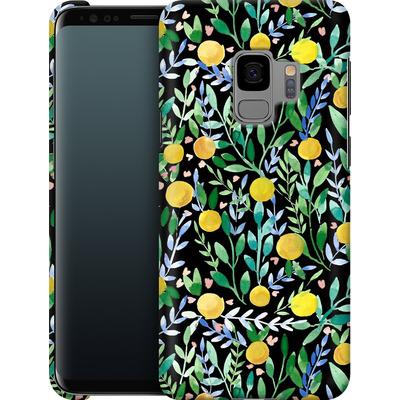 Samsung Galaxy S9 Smartphone Huelle - Bright Blossoms von Iisa Monttinen