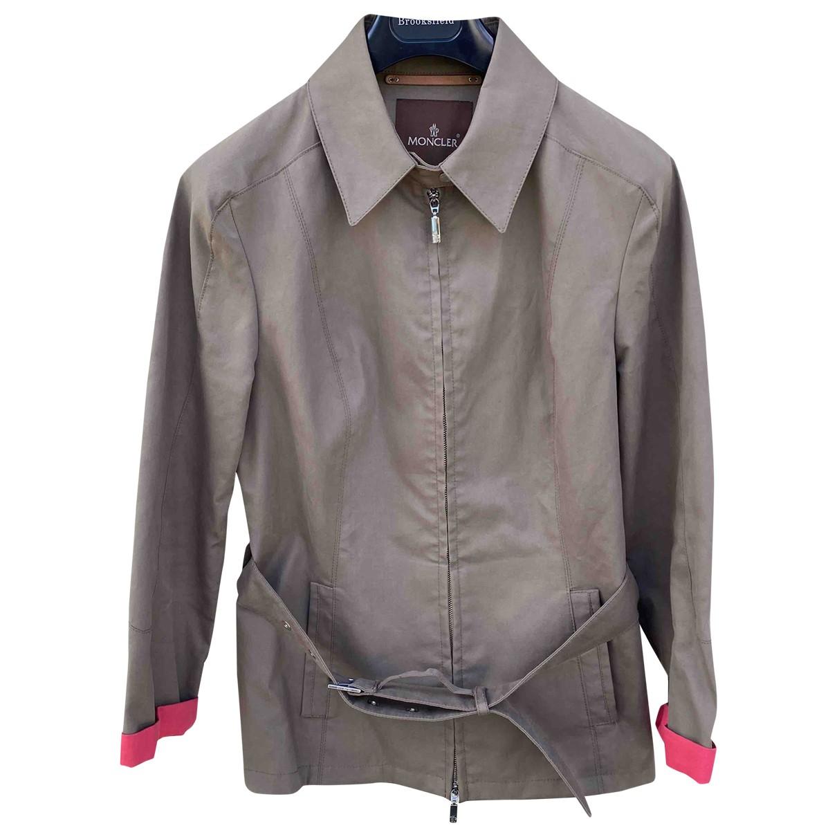 Moncler N Grey Cotton jacket for Women 3 0-5