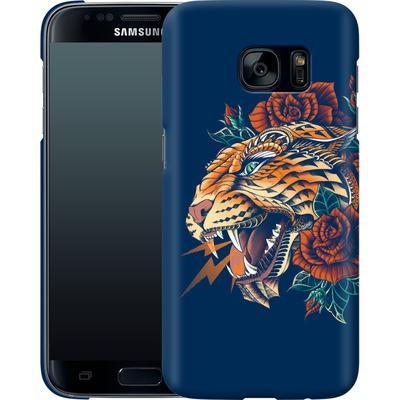 Samsung Galaxy S7 Smartphone Huelle - Ornate Leopard von BIOWORKZ