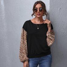 Sudaderas Leopardo Casual