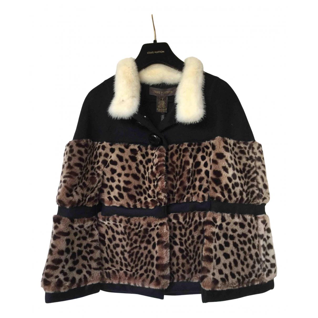 Louis Vuitton \N Jacke in  Bunt Fell