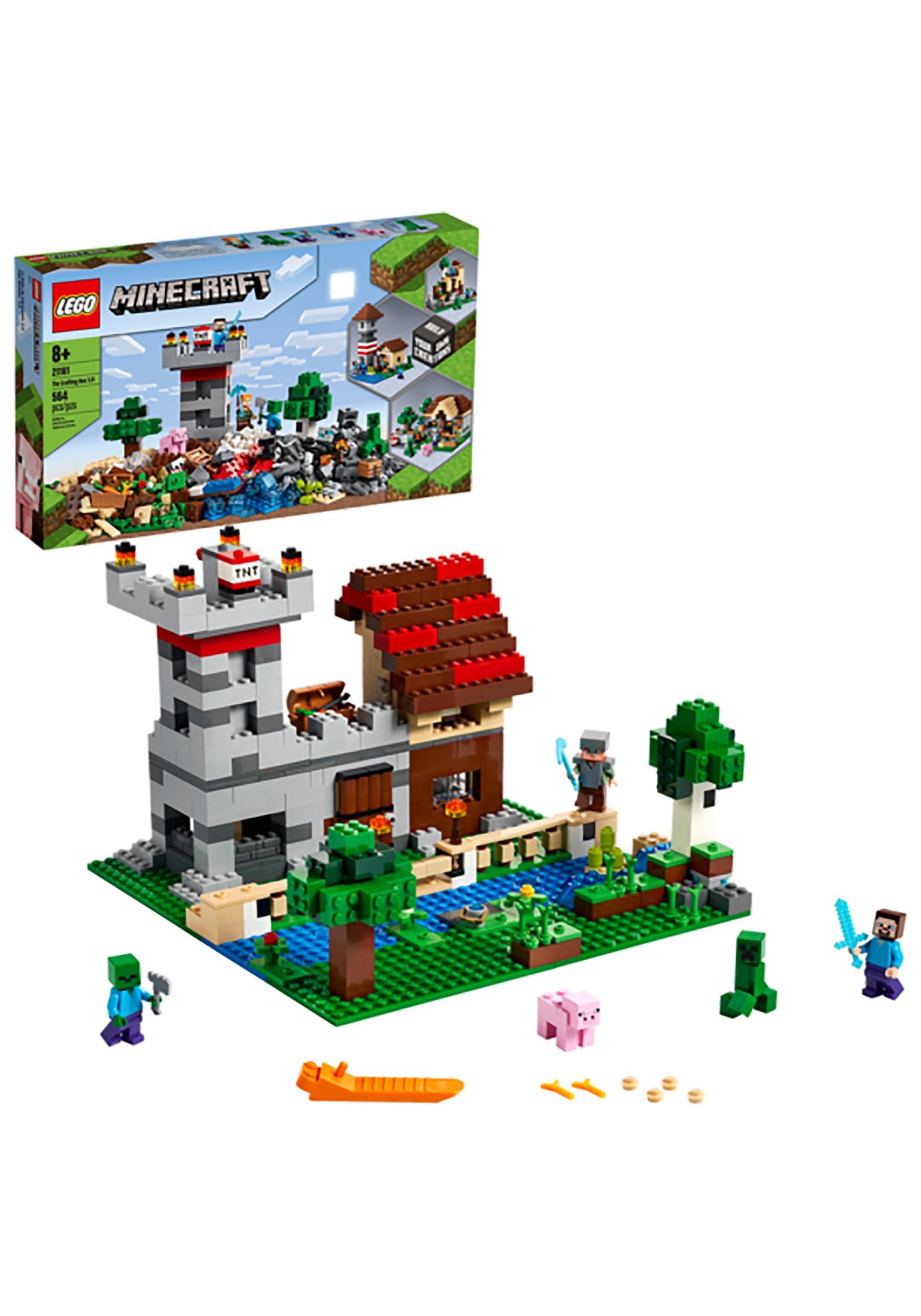 LEGO Minecraft Crafting Box 3.0 Playset