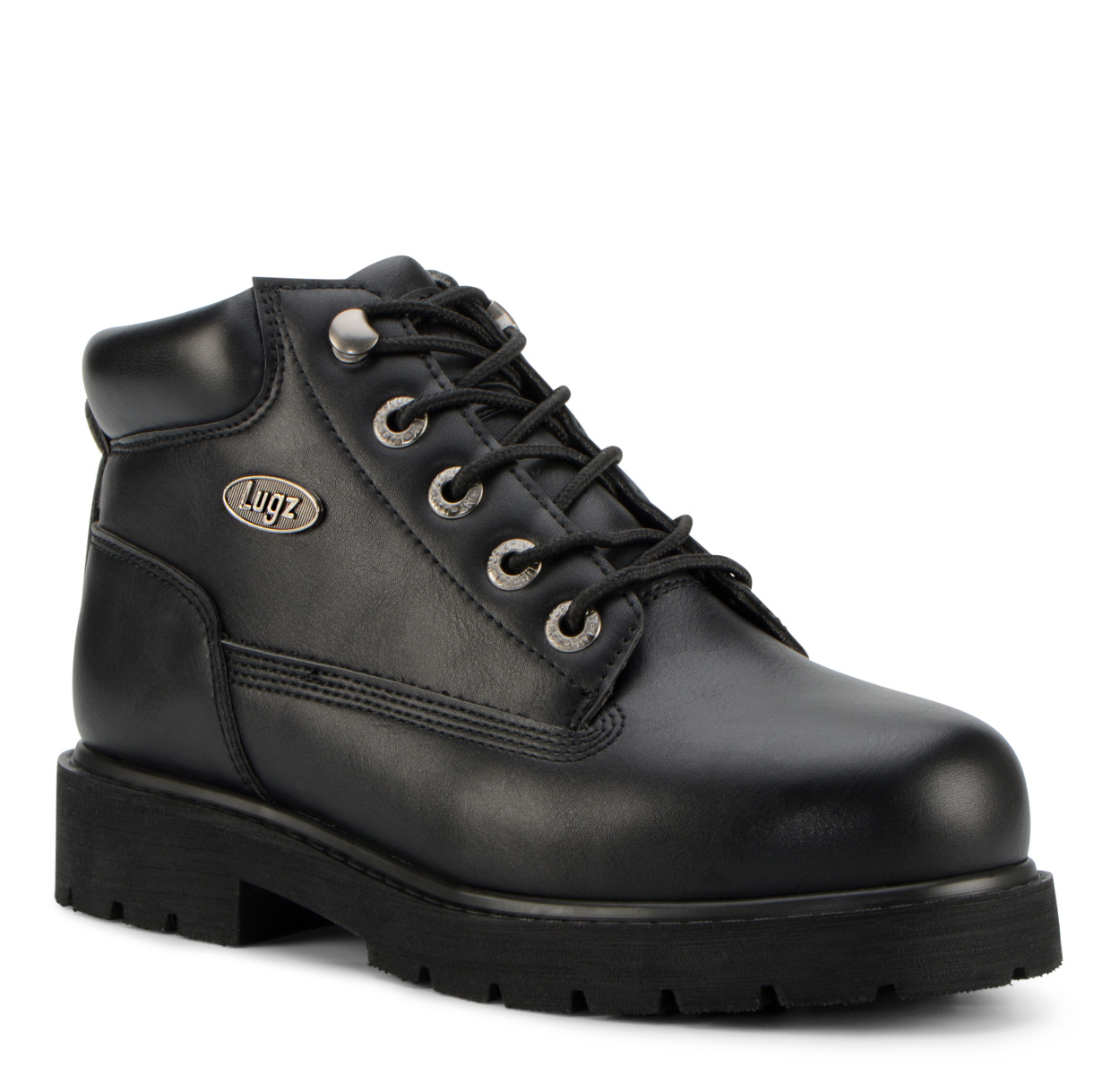 Women's Brazer Steel Toe Chukka Boot (Choose Your Color: BLACK, Choose Your Size: 8.5)