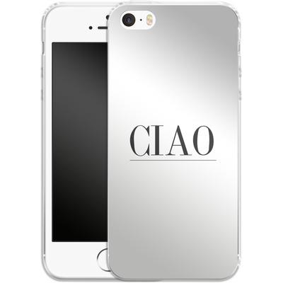 Apple iPhone 5s Silikon Handyhuelle - Just CIAO! von Erik Scholz