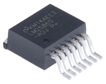 Texas Instruments LM2586S-ADJ/NOPB, Boost Converter, Step Up 3A Adjustable, 200 kHz 7-Pin, TO-263