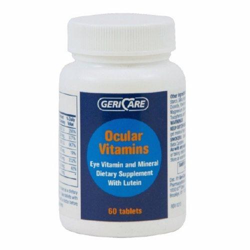 Eye Vitamin Supplement GeriCare Vitmain A / Ascorbic Acid / Vitamin E 14320 IU  226 mg  200 IU St 60 Tabs by McKesson