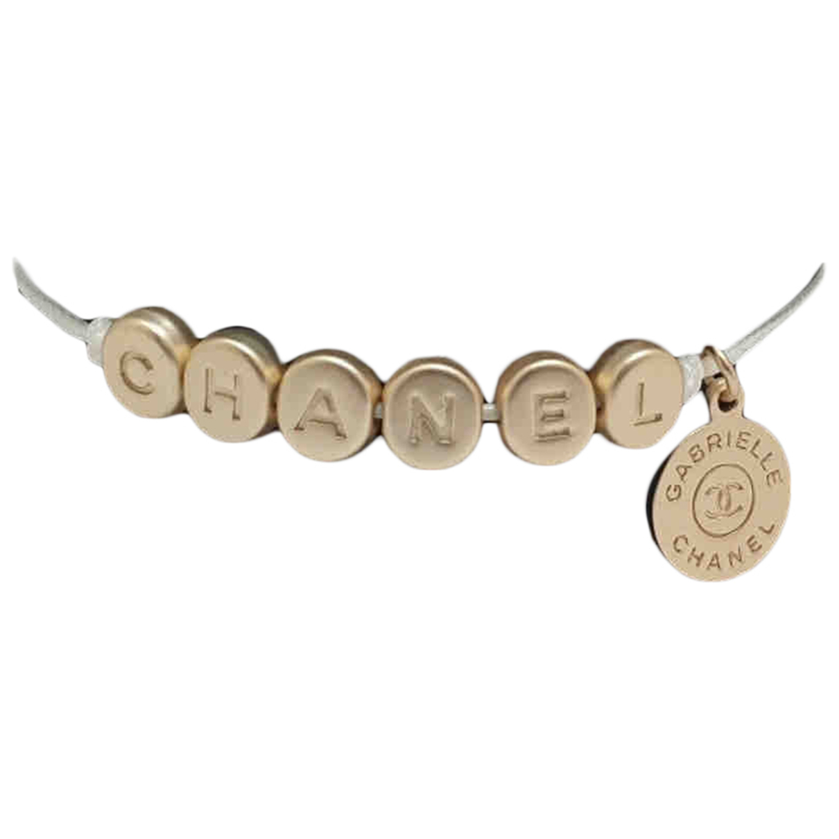 Chanel CHANEL Gold Metal bracelet for Women N