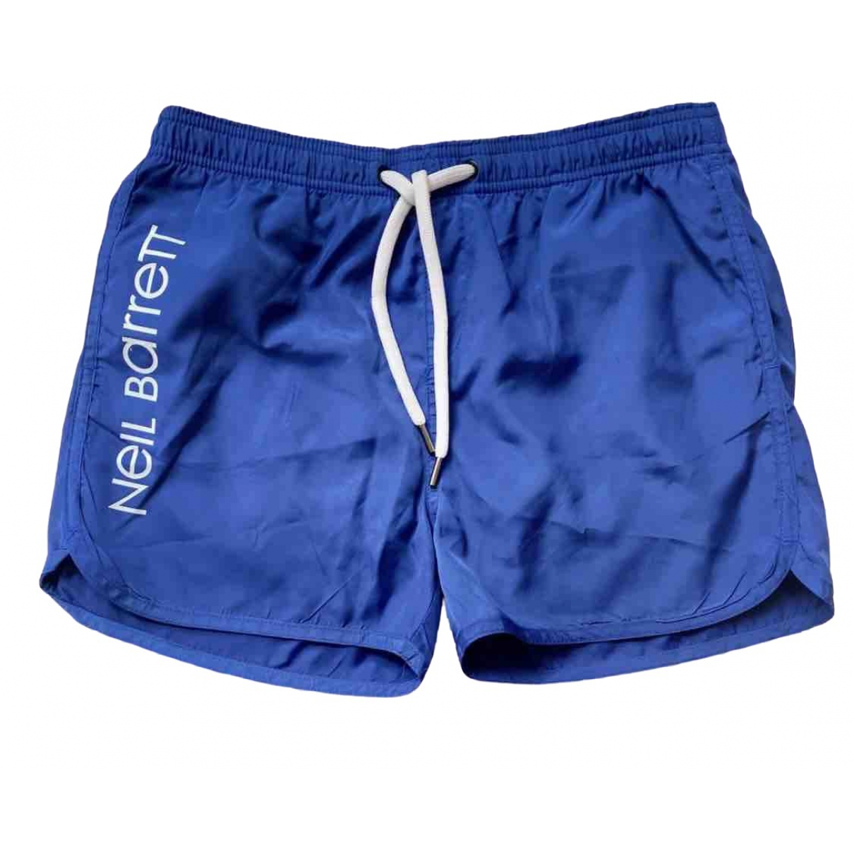 Neil Barrett \N Shorts in  Blau Polyester