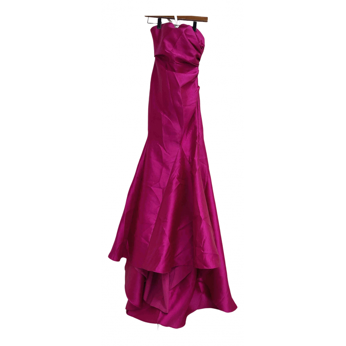 Badgley Mischka \N Kleid in  Lila Polyester