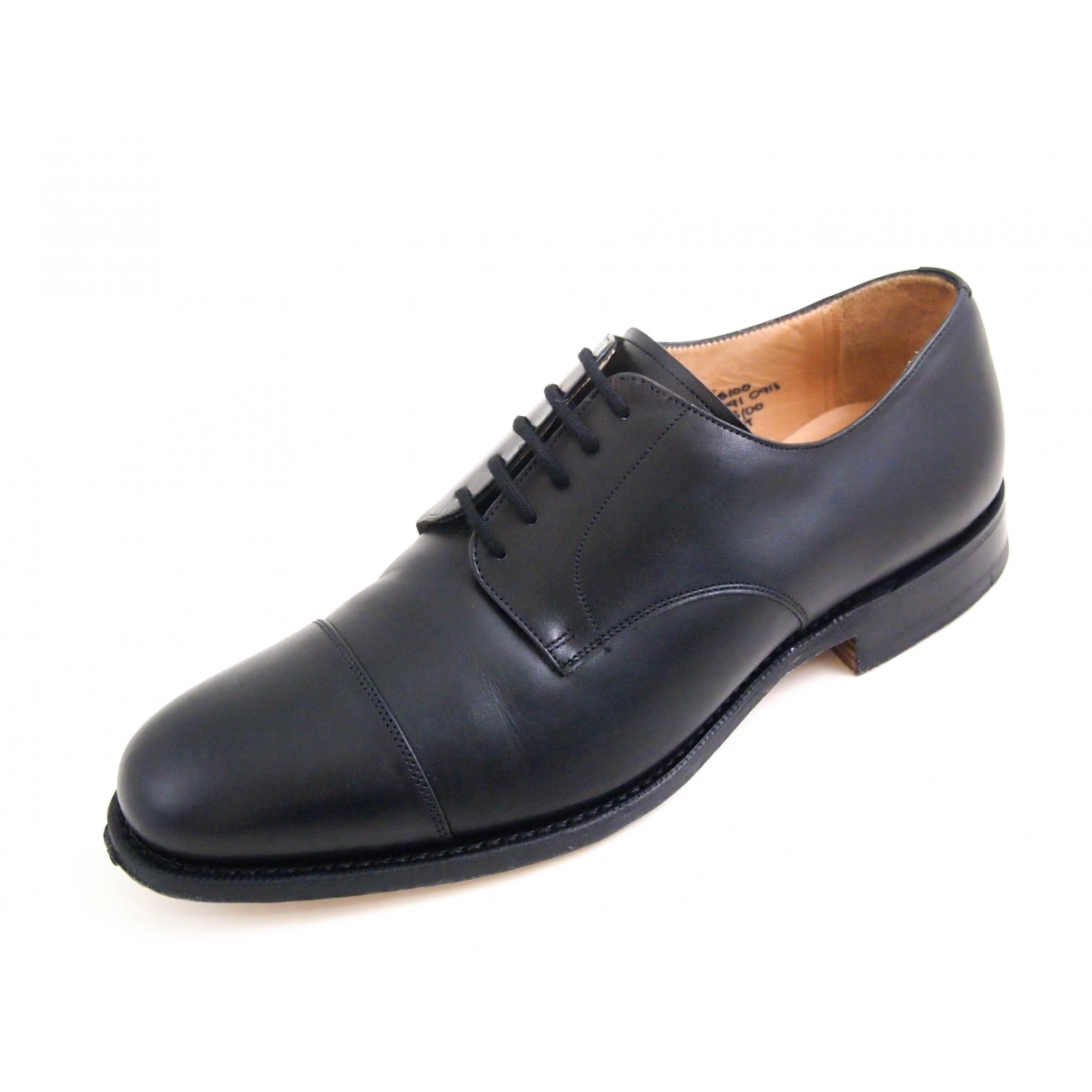 Church's N Black Leather Lace ups for Men 41 EU