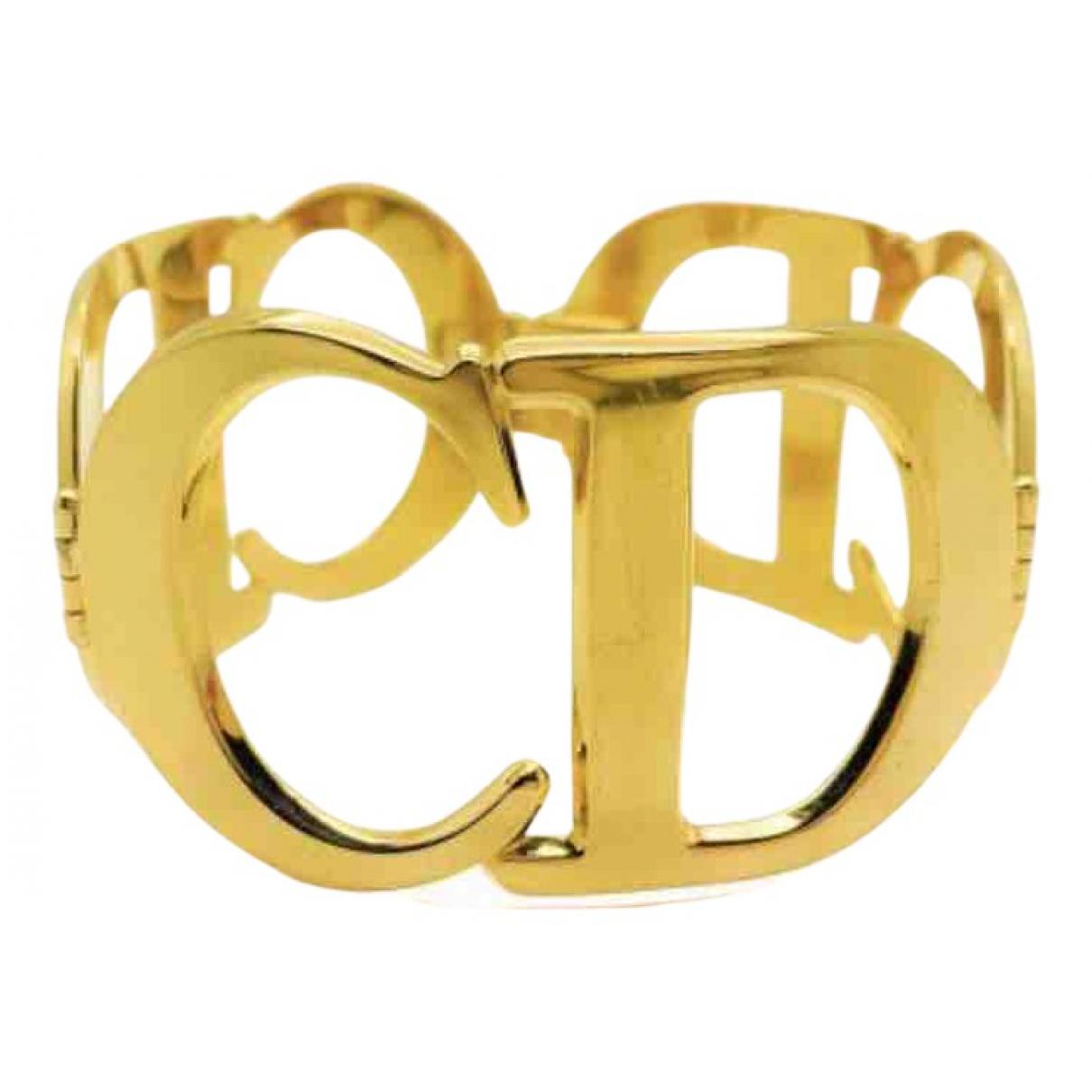 Dior Monogramme Gold Metal bracelet for Women N