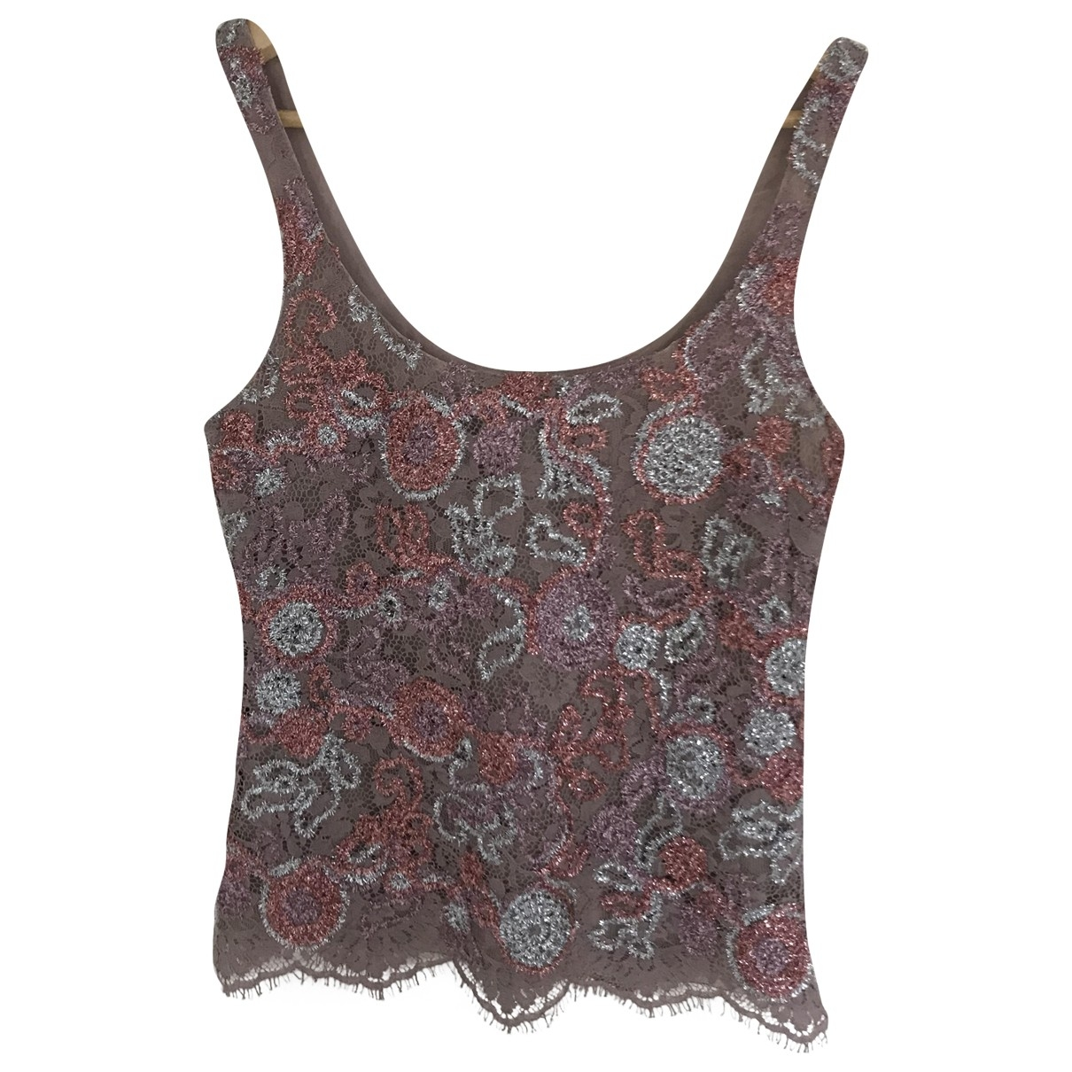Burberry \N Multicolour Cotton  top for Women 38 IT