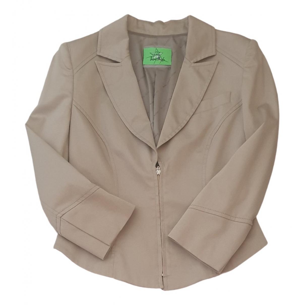 Thierry Mugler - Veste   pour femme en coton - beige