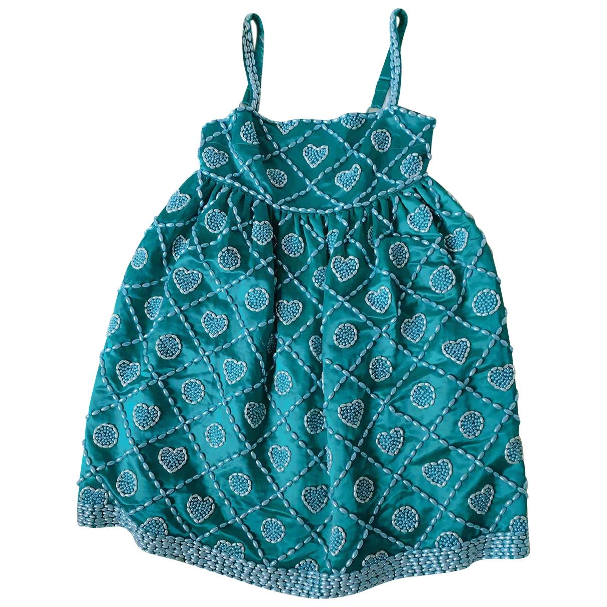 Manoush \N Kleid in  Gruen Seide