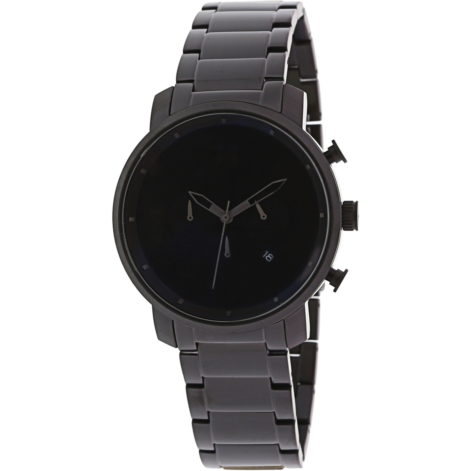 MVMT Men's Chrono MC01BB Black Stainless-Steel Analog Quartz Fashion Watch