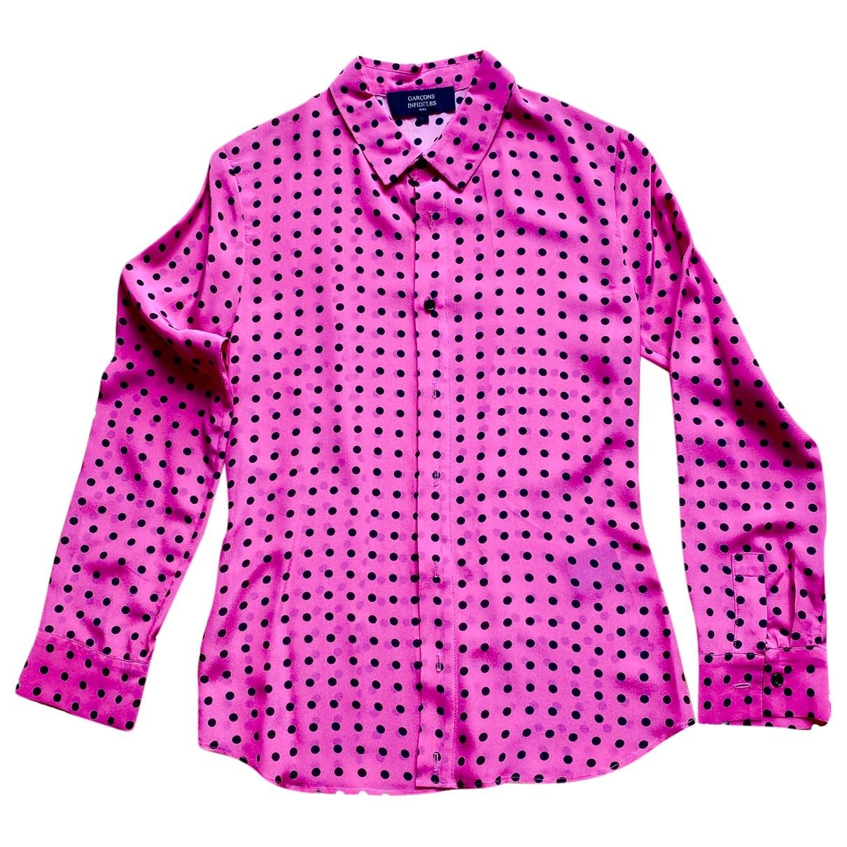 Camisa de Seda Garcons Infideles