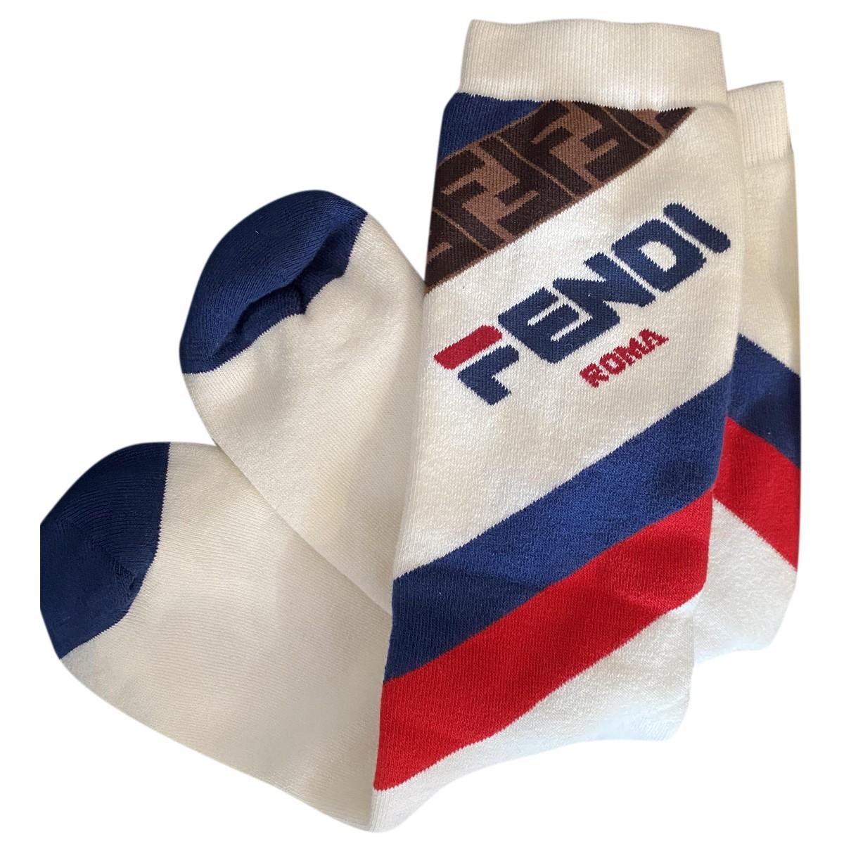 Fendi N Multicolour Cotton scarf & pocket squares for Men N