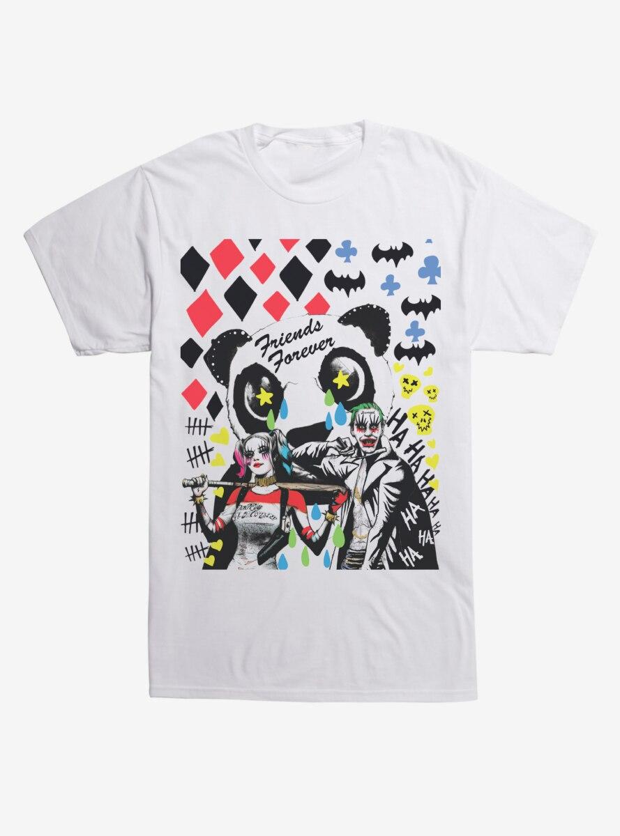 DC Comics Suicide Squad Friends Forever T-Shirt