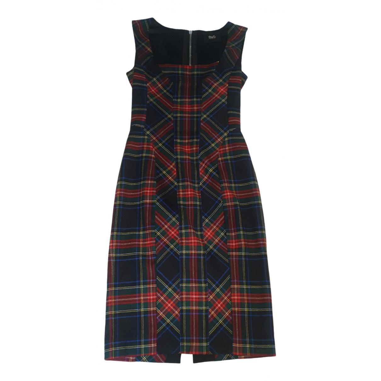 D&g \N Kleid in  Bunt Wolle