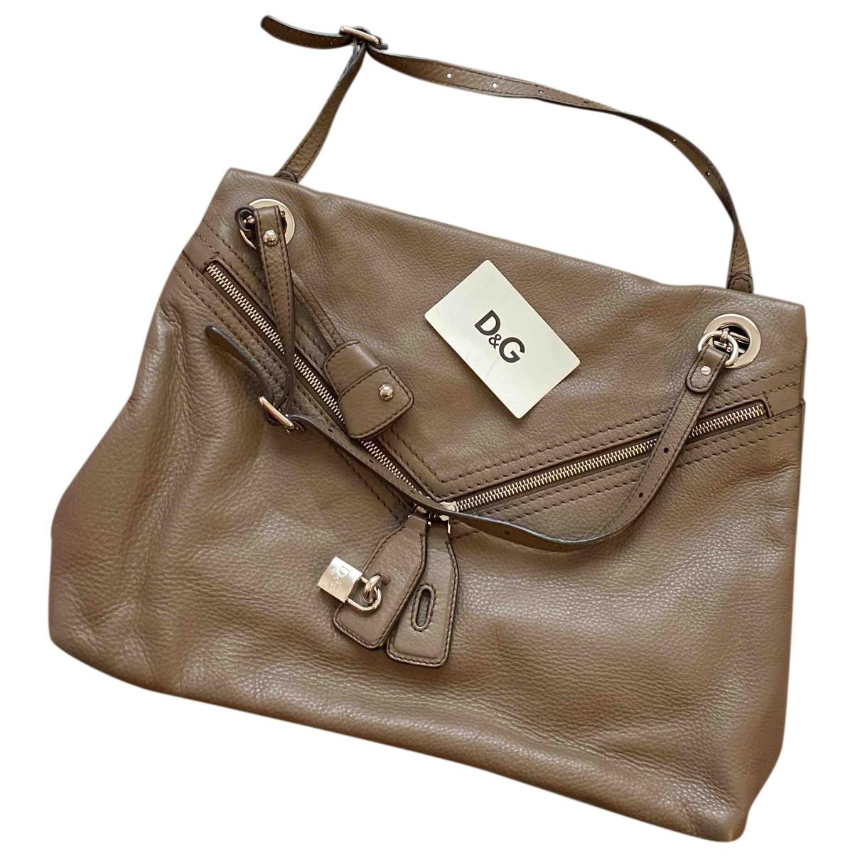 D&g N Khaki Fur handbag for Women N
