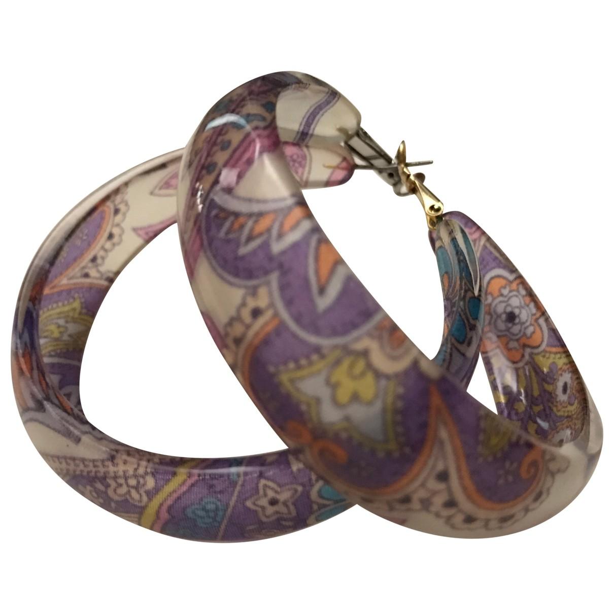Etro - Boucles doreilles   pour femme - multicolore